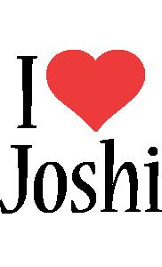 Joshi i-love logo