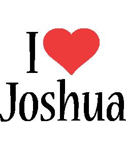 Joshua i-love logo