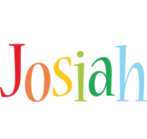 Josiah birthday logo