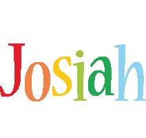 Josiah birthday logo
