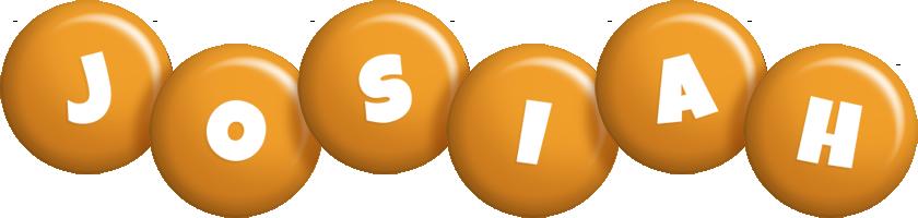 Josiah candy-orange logo