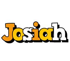Josiah cartoon logo