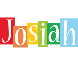 Josiah colors logo