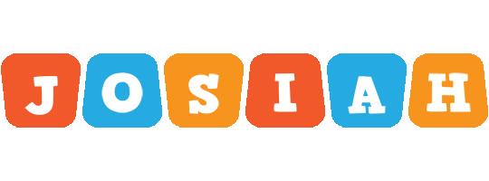 Josiah comics logo