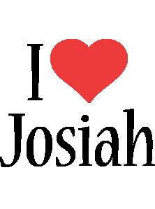Josiah i-love logo