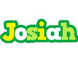 Josiah soccer logo