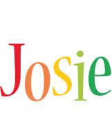 Josie birthday logo