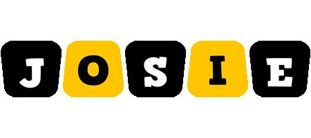 Josie boots logo