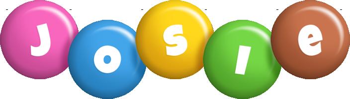 Josie candy logo