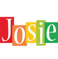 Josie colors logo
