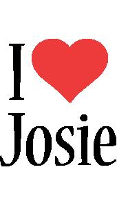 Josie i-love logo
