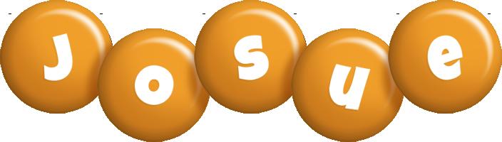 Josue candy-orange logo