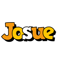 Josue cartoon logo