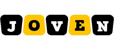 Joven boots logo