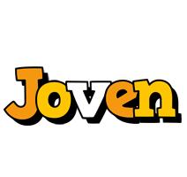 Joven cartoon logo