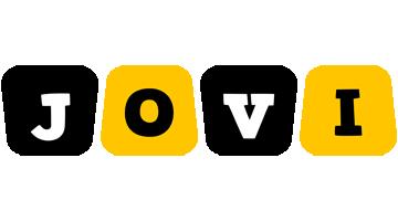 Jovi boots logo