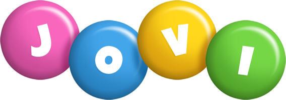 Jovi candy logo