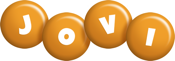 Jovi candy-orange logo