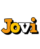Jovi cartoon logo