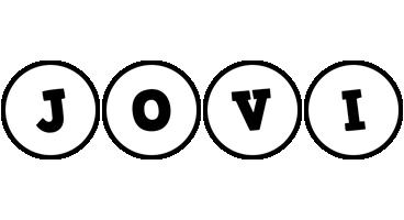 Jovi handy logo