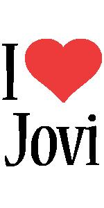 Jovi i-love logo