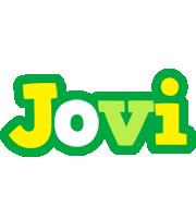 Jovi soccer logo