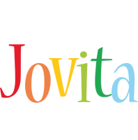Jovita birthday logo