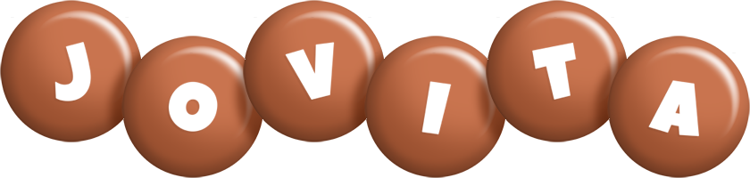 Jovita candy-brown logo