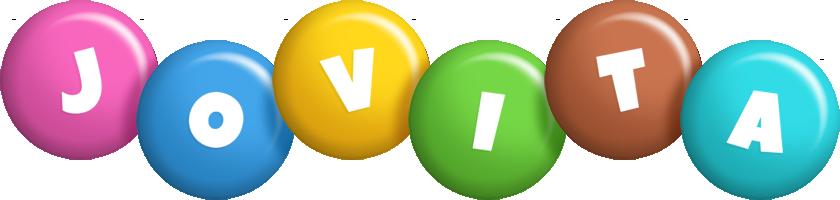 Jovita candy logo
