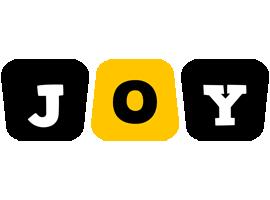 Joy boots logo