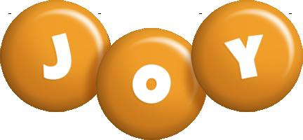 Joy candy-orange logo