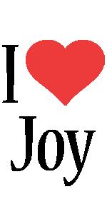 Joy i-love logo