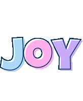 Joy pastel logo