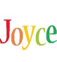Joyce birthday logo