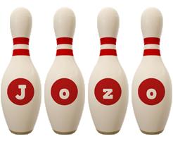 Jozo bowling-pin logo