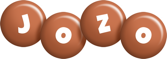 Jozo candy-brown logo
