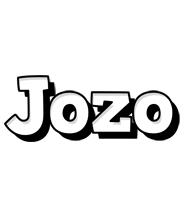 Jozo snowing logo