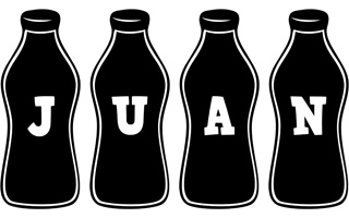 Juan bottle logo