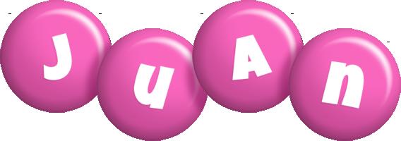 Juan candy-pink logo
