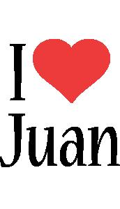 Juan i-love logo