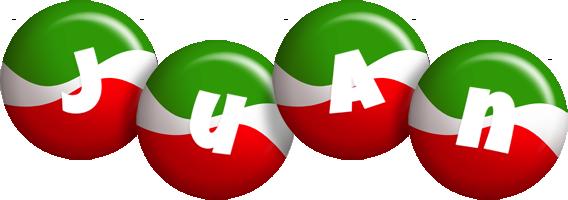 Juan italy logo
