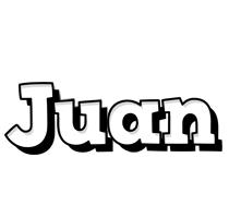 Juan snowing logo