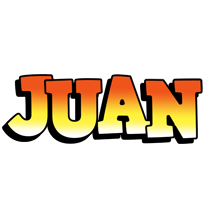 Juan sunset logo
