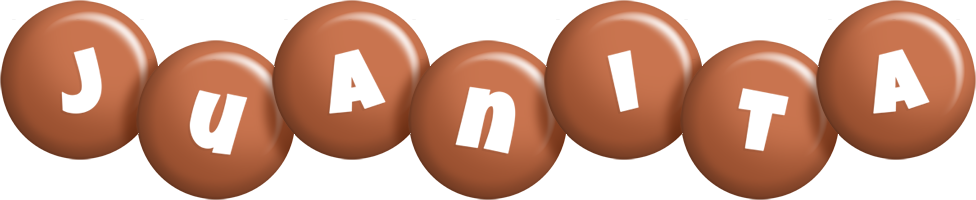 Juanita candy-brown logo