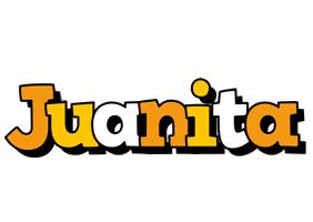 Juanita cartoon logo