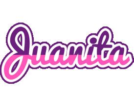 Juanita cheerful logo