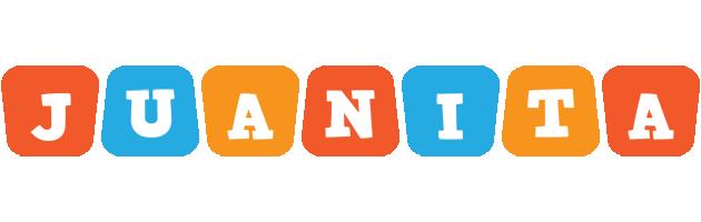 Juanita comics logo