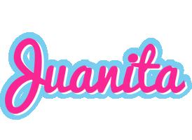 Juanita popstar logo