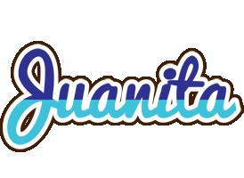Juanita raining logo