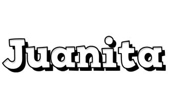 Juanita snowing logo